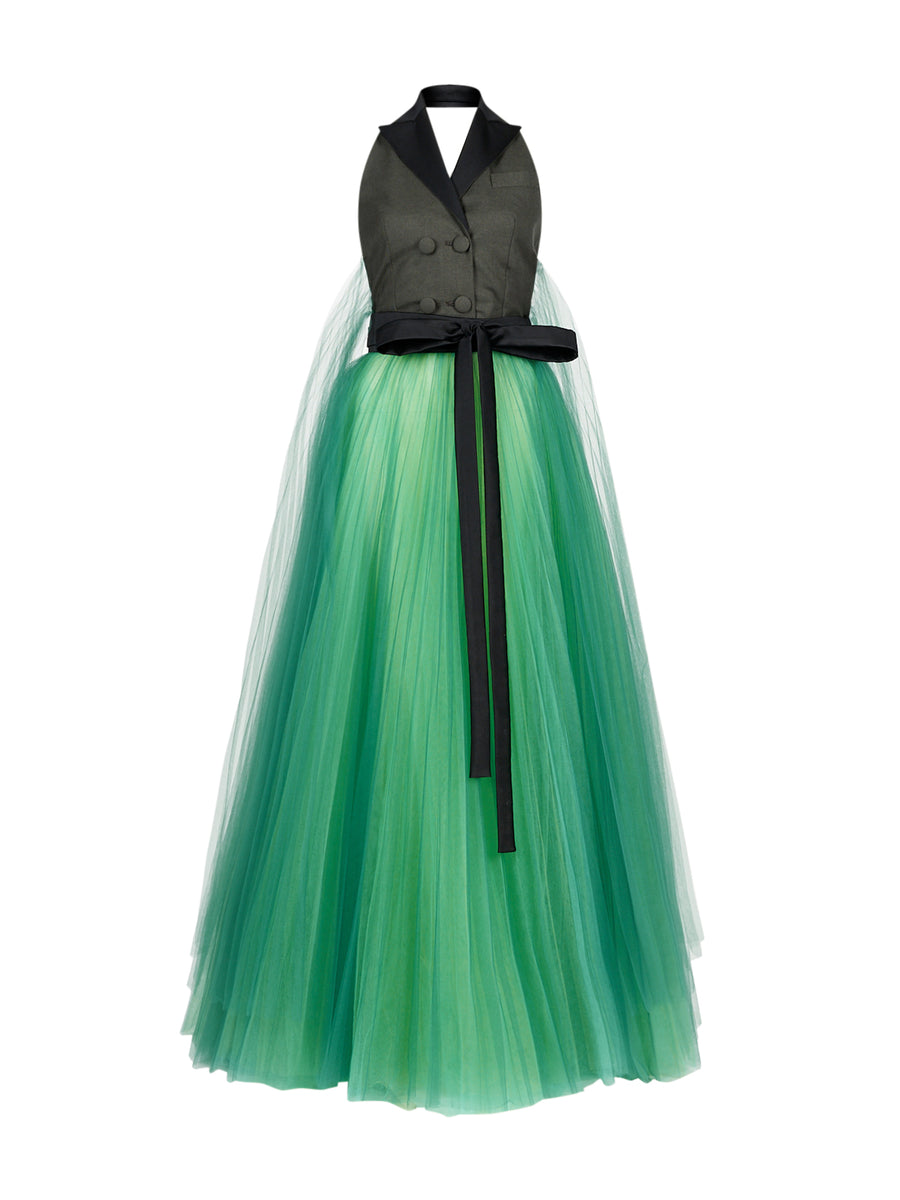 Alexandra Dress in Green