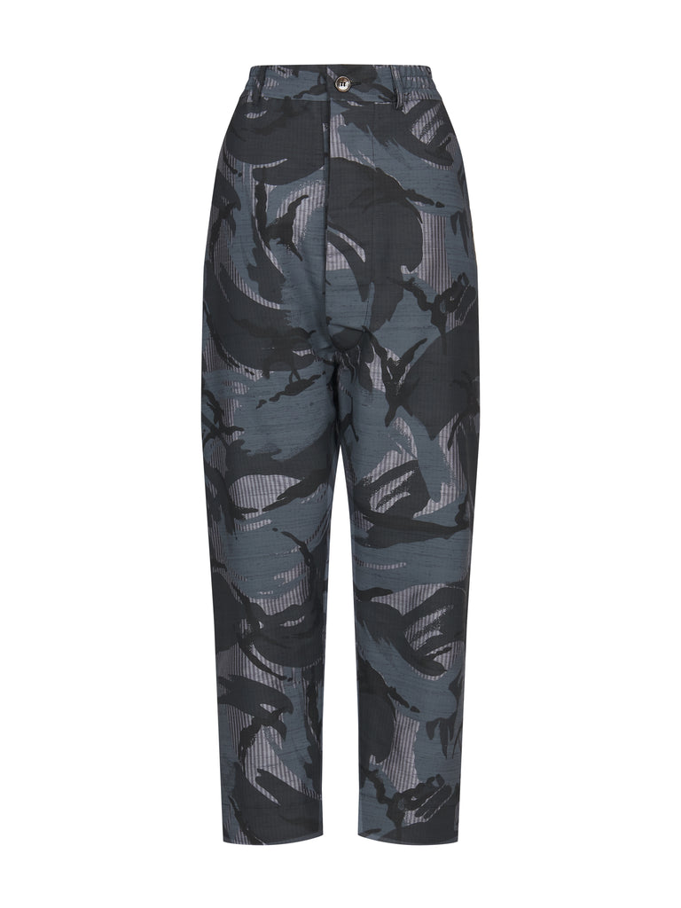 CLINT TROUSERS GREY CAMO