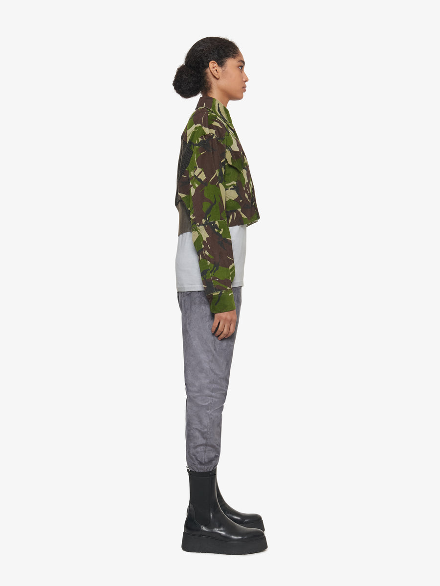 CROPPED KILL JACKET CAMO