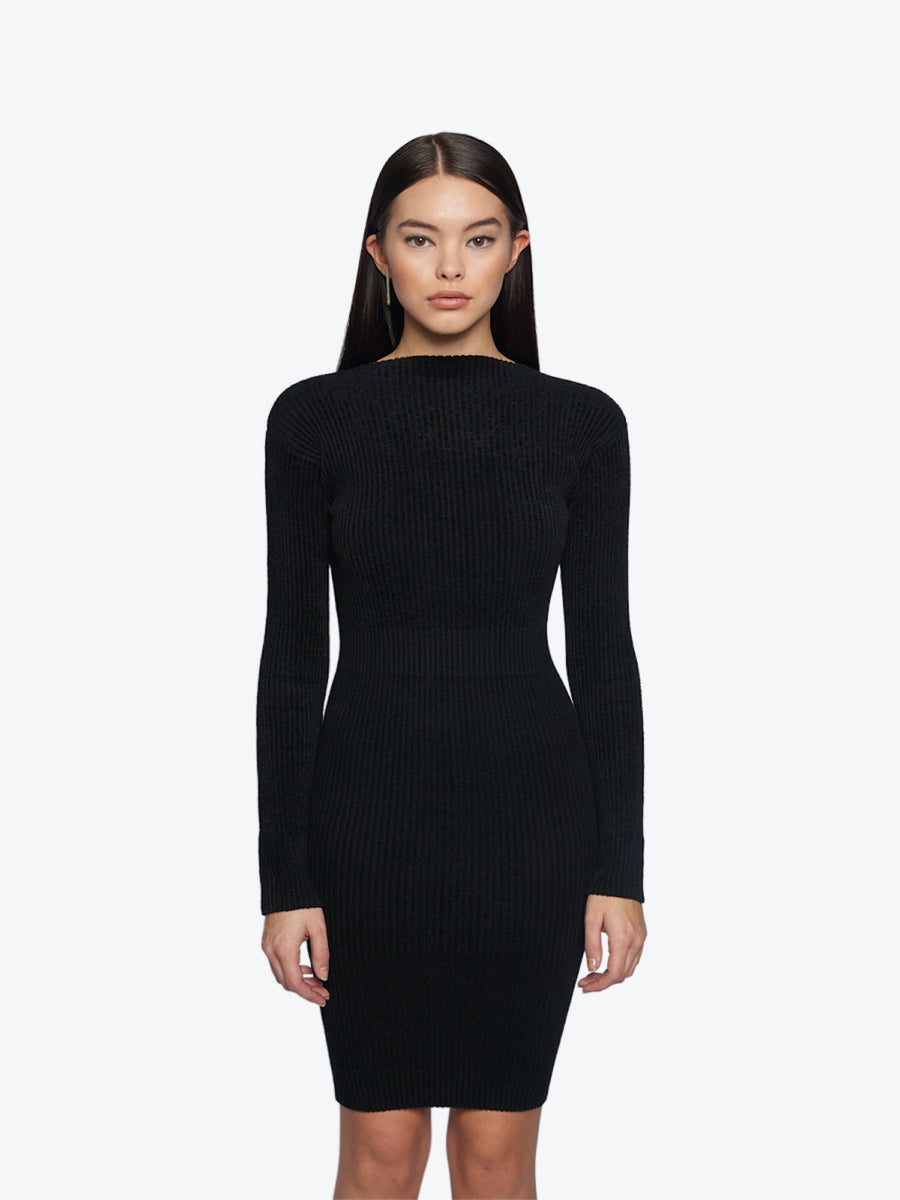 JISELLE KNITED TUBE DRESS
