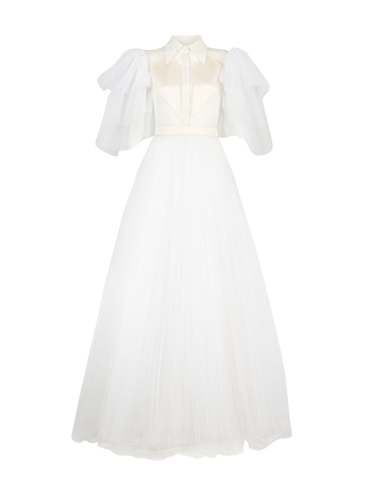 Felice wedding dress in white