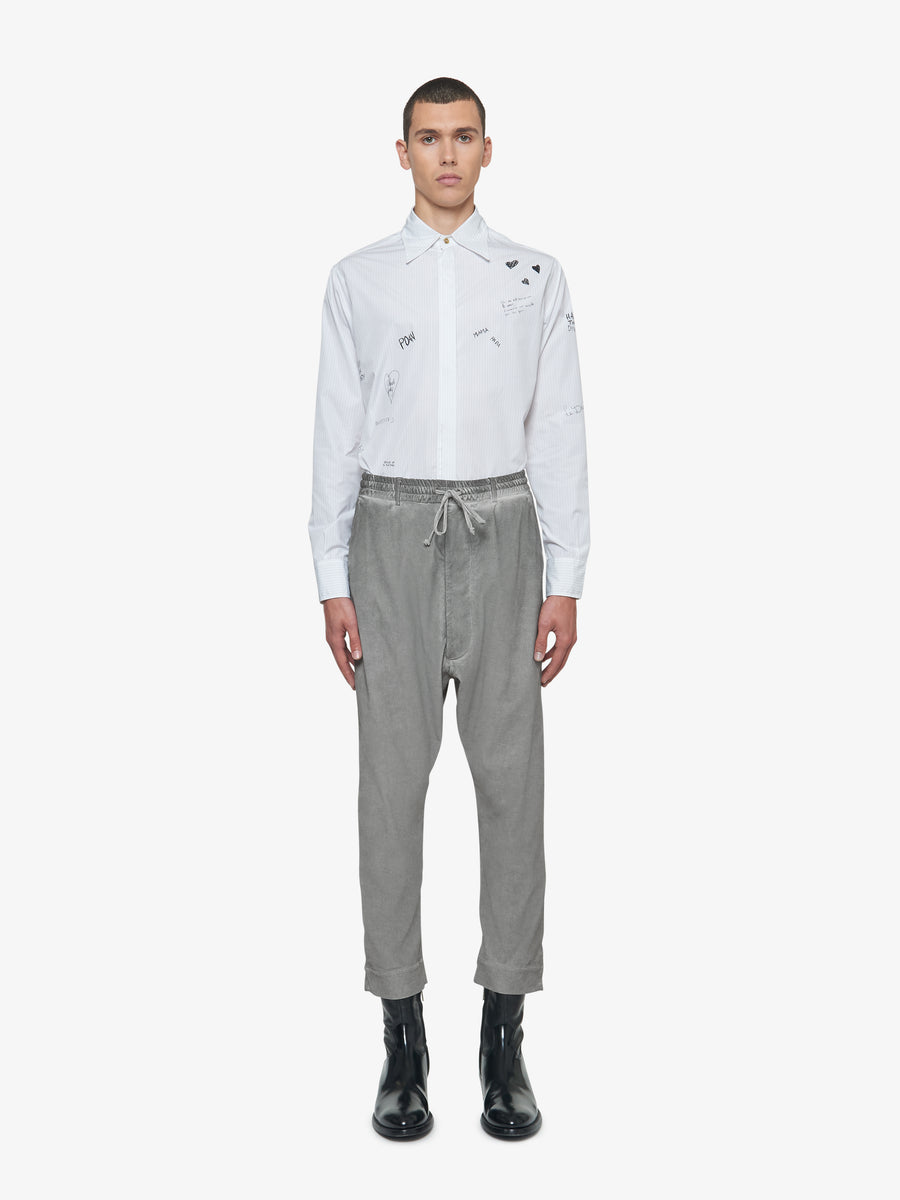 FENDER TROUSERS GREY