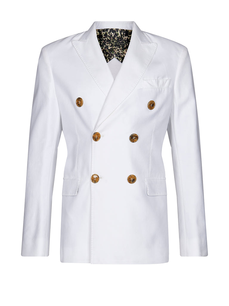 Michael jacket in white