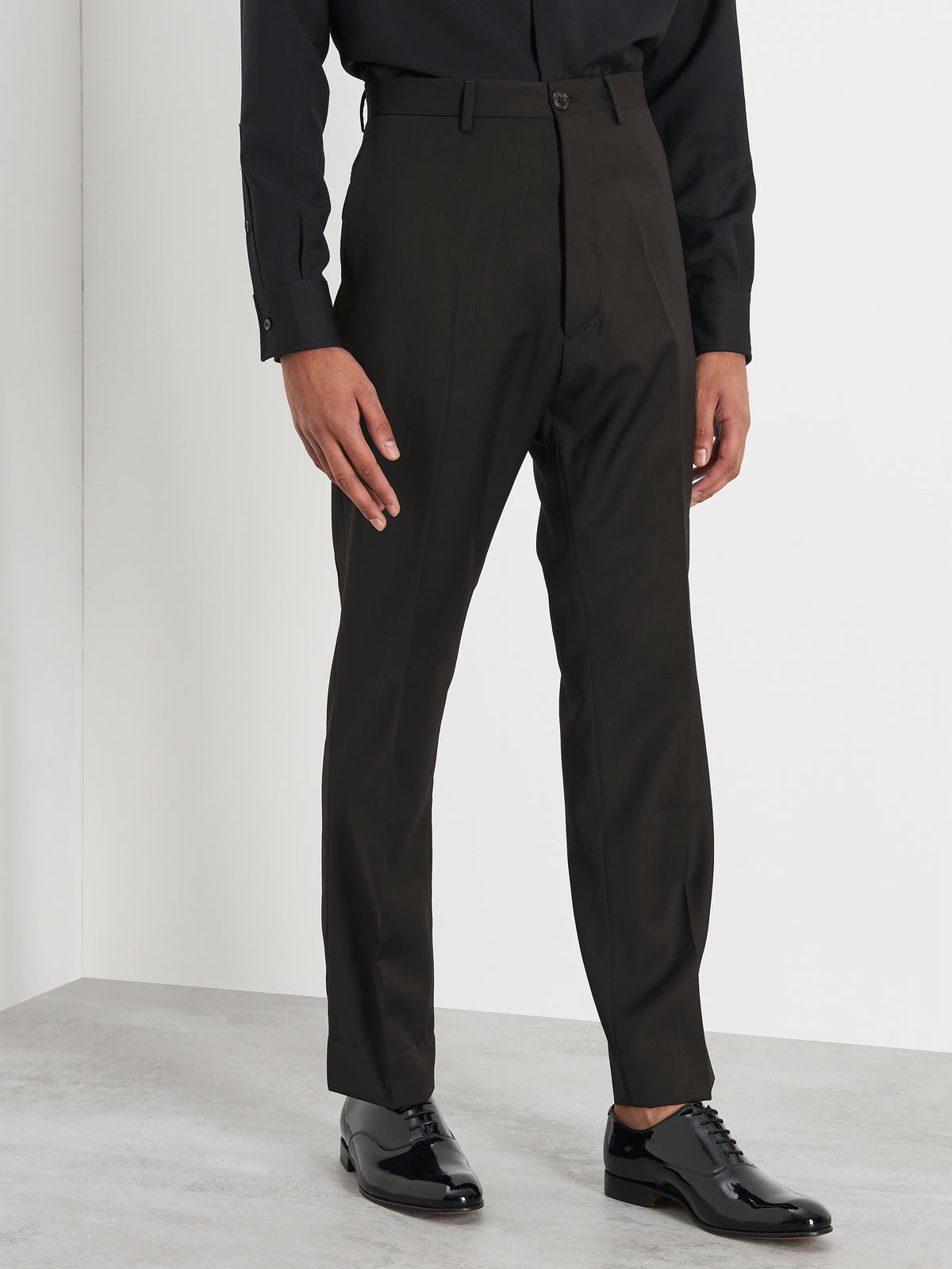 Prince trousers in black