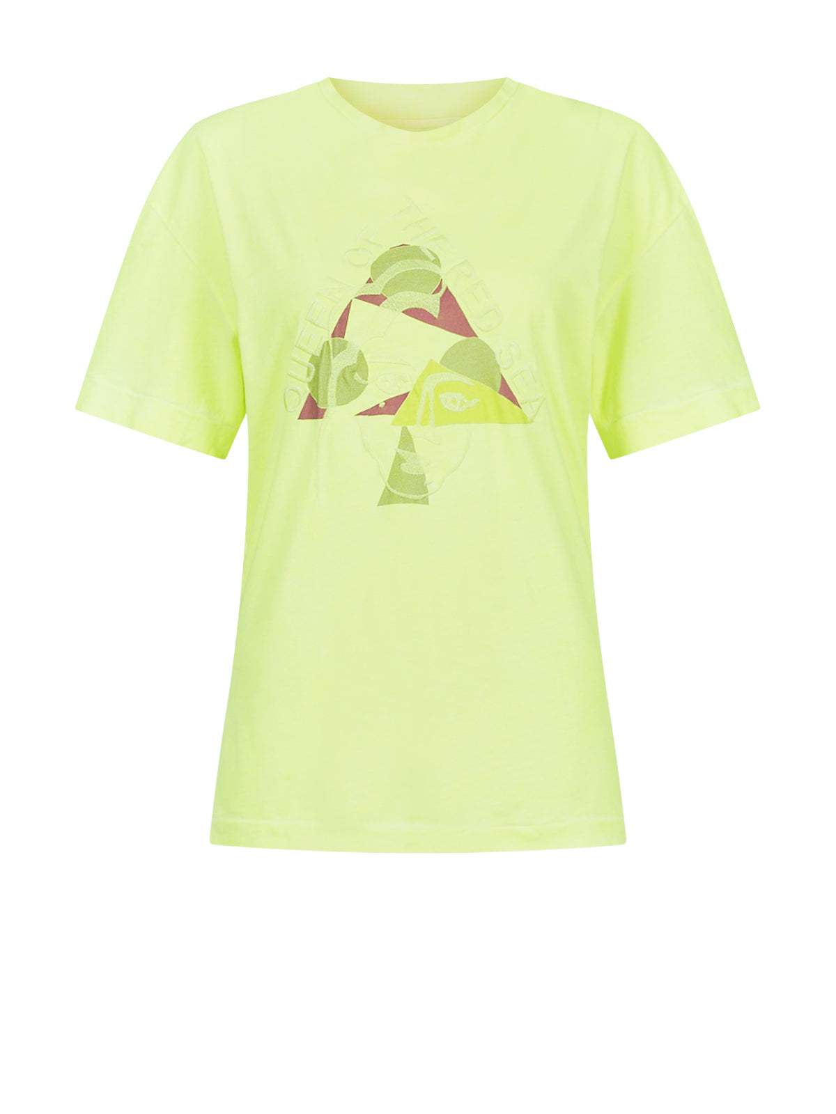 QUEEN T-SHIRT YELLOW