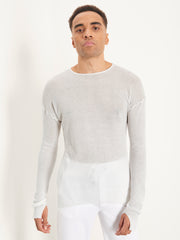 Roberto Jumper doused in white