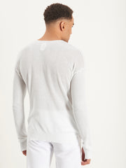 Back of Roberto Jumper doused in white