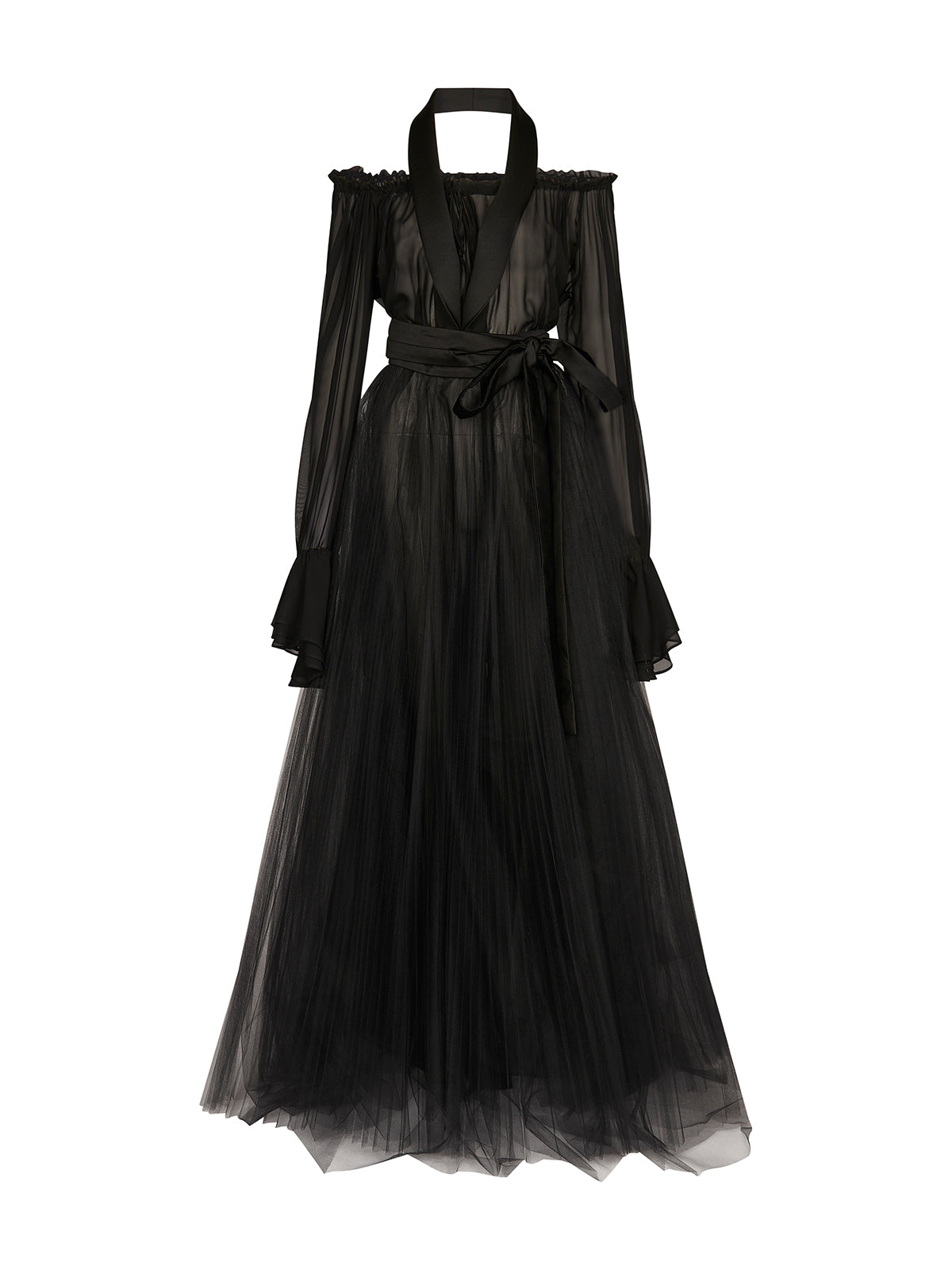 Smoker Evening Gown in black