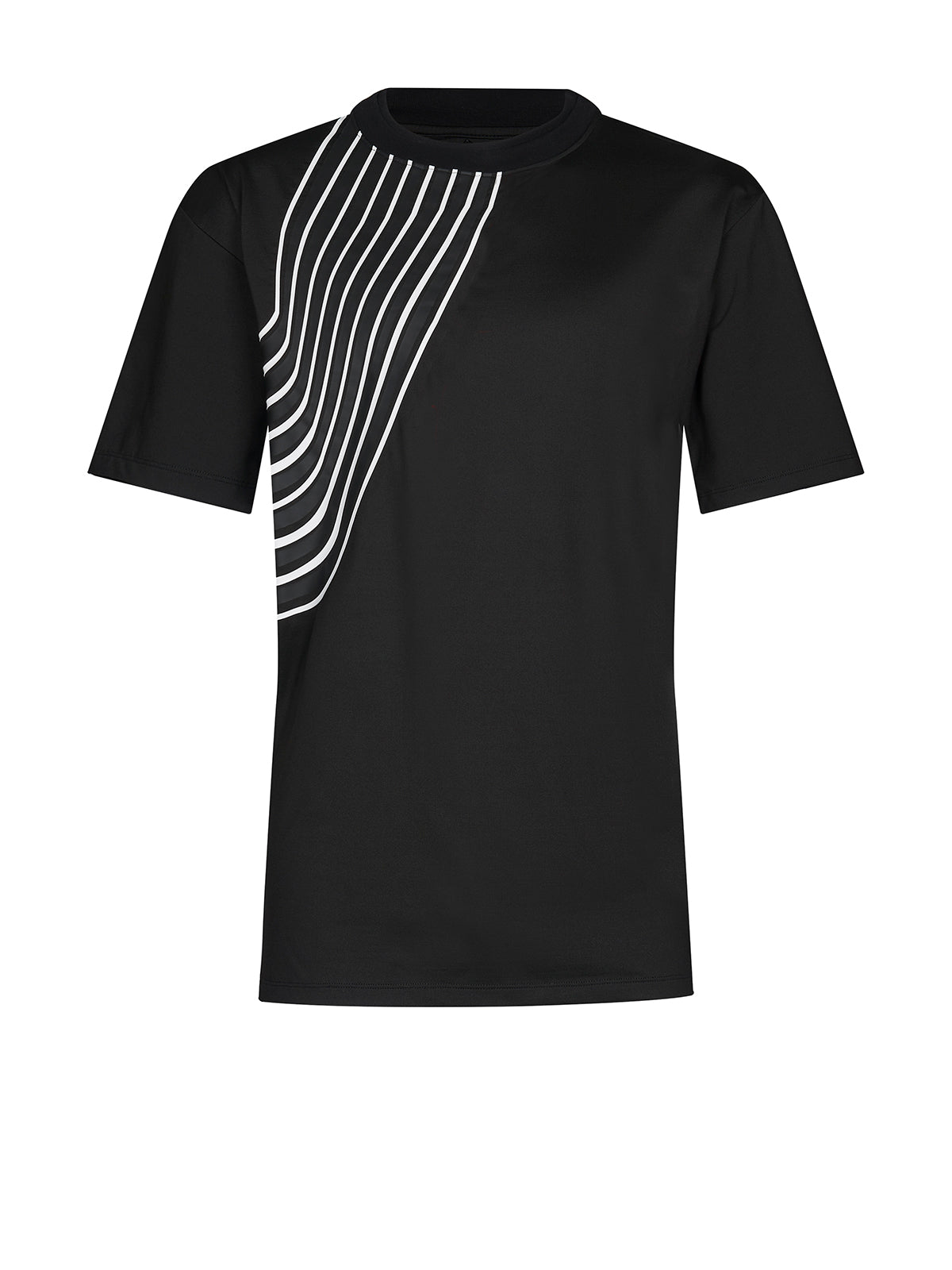 STRIPED SPORTS T-SHIRT