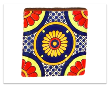 Yellow Flower Tile