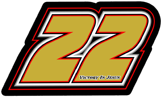 #22 Decal