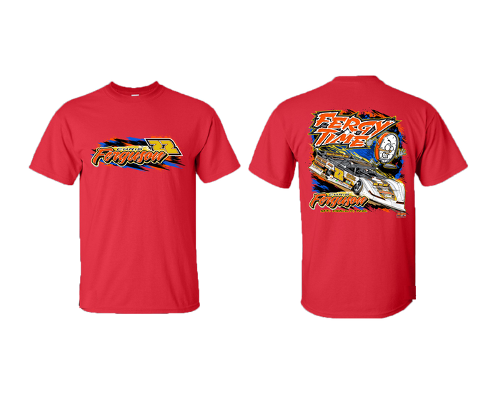 2020 Fergy Time Aggressive Shirt Red