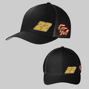 2020 All Black CFM Official Hat #22 Two Logo
