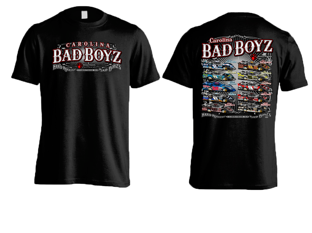 2019 Carolina Bad Boys Shriners Hospital Benefit Shirt