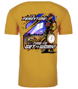 2019 Super Fergy Soft Shirt Gold