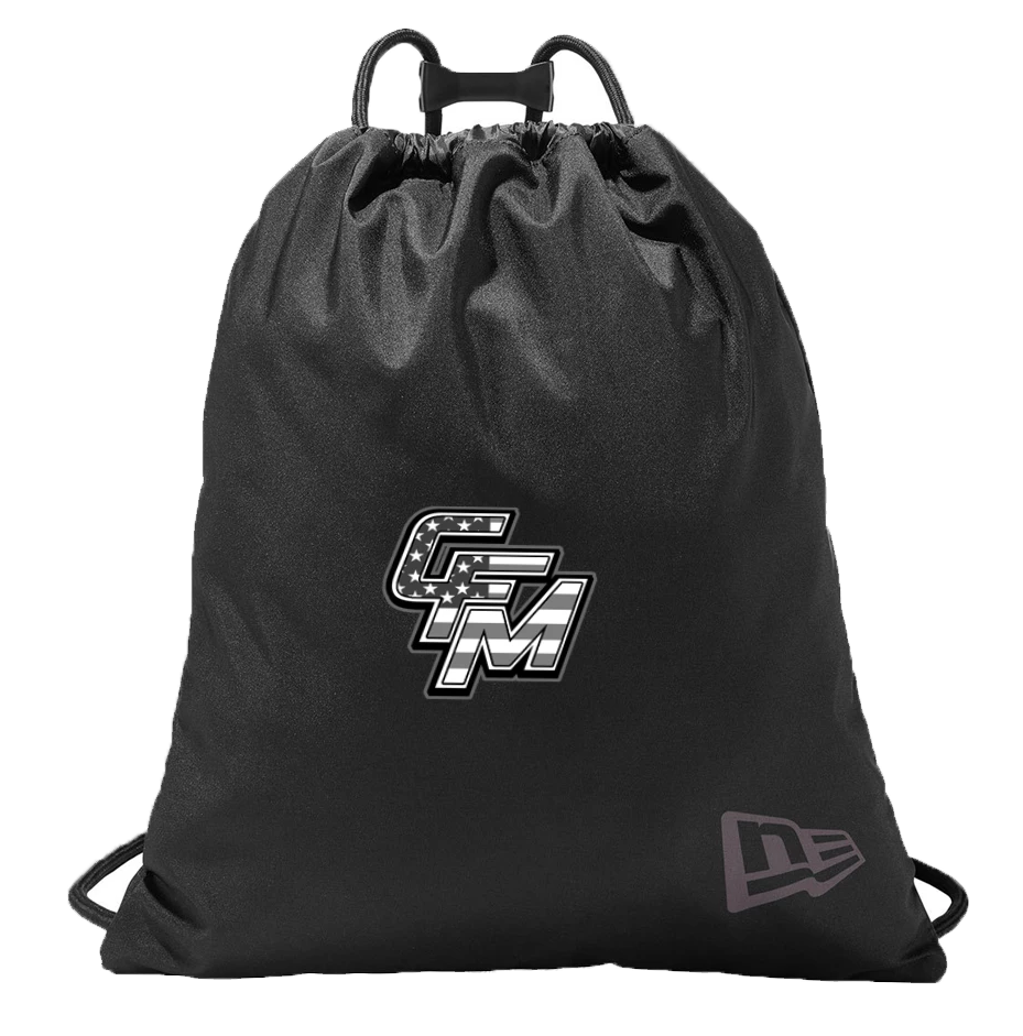 CFM New Era Game Day Cinch Bag Black Out