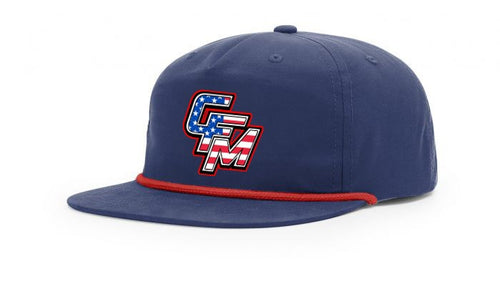 Blue CFM Stars and Stripes Rope Hat
