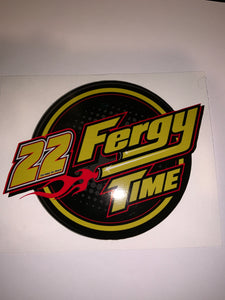 Fergy Time Flame Decal