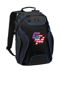 CFM Fergy Time OGIO Back Pack BLUE PINSTRIPE