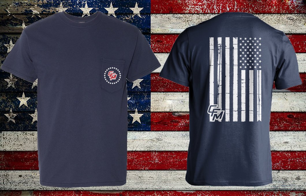CFM 2020 Freedom Front Pocket Tee