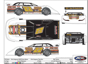 2020 Chris Ferguson Die Cast