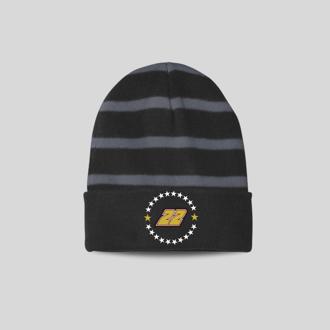 Insulated Fleece 22 Star Beanie