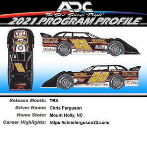 Pre Order - 2021 Bristol Dirt Win Chris Ferguson Die Cast - Pre Order for June 2021