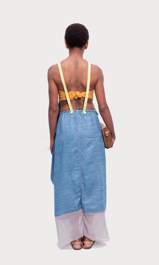 DENIM YOLI DRESS