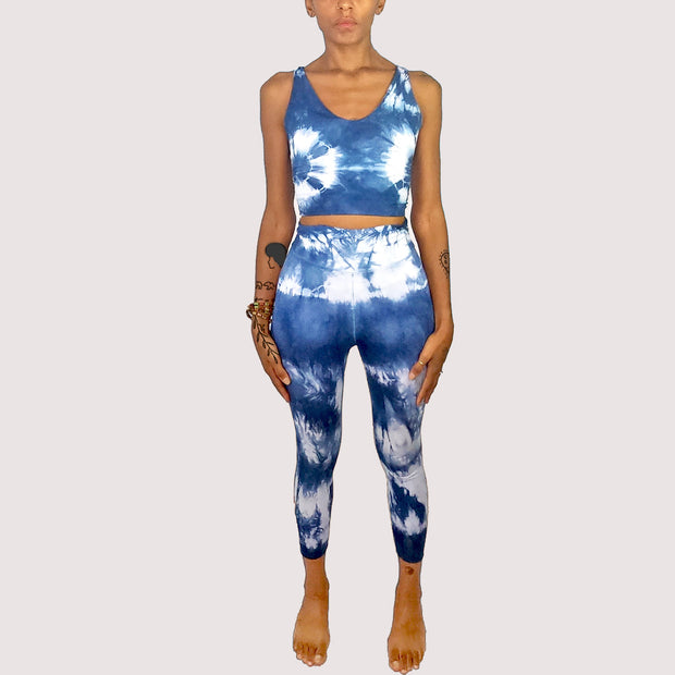 KEMETIC YOGA INDIGO  Leggins & Top