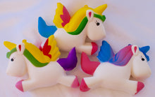 Load image into Gallery viewer, Scented Rainbow Unicorn Squishies