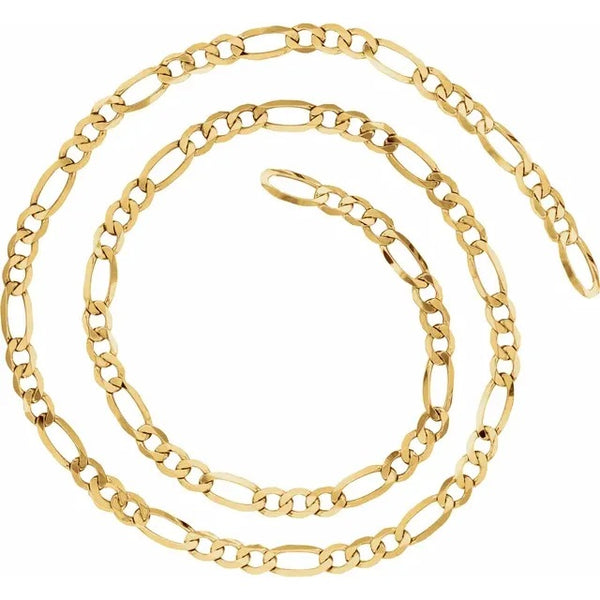 Chain ~ Figaro in 14k Gold - Alexandra Mosher Studio Jewellery Bermuda Fine