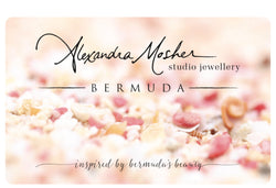 Gift Card ~ A Physical Card Shipped to You! - Alexandra Mosher Studio Jewellery Bermuda Fine