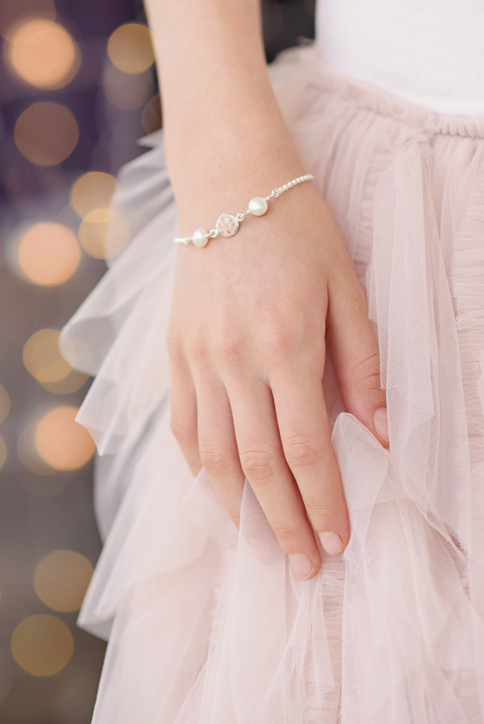 Princess ~ Diana Medium Bracelet - Alexandra Mosher Studio Jewellery Bermuda Fine