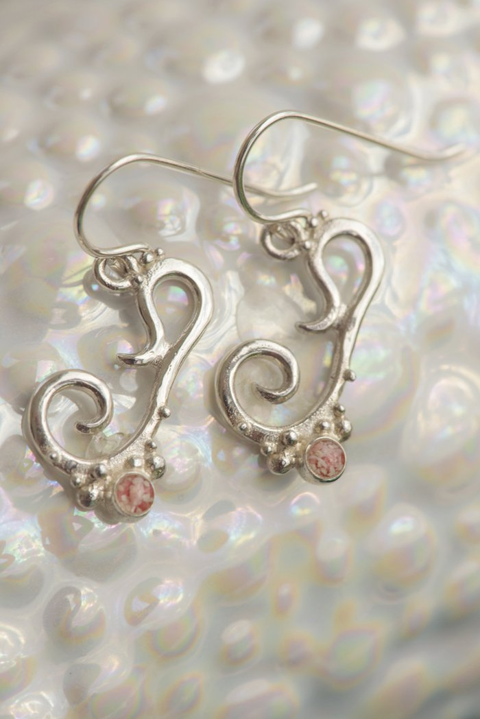 Bermuda ~ Small Dangle Earrings - Alexandra Mosher Studio Jewellery Bermuda Fine