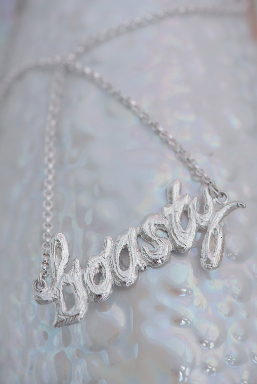 "Bermy Vurds ""Boasty"" Inline Necklace"
