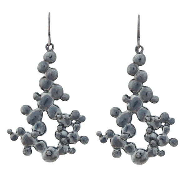 Caviar ~ Chandelier Earrings - ARCHIVED - Alexandra Mosher Studio Jewellery Bermuda Fine