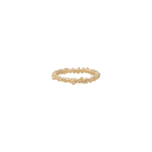 Caviar ~ Medium Ring 14K