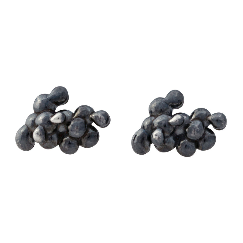 Caviar ~ Small Stud Earrings - Alexandra Mosher Studio Jewellery Bermuda Fine