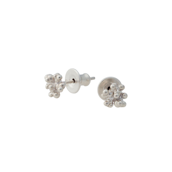 Caviar ~ Tiny Stud Earrings - Alexandra Mosher Studio Jewellery Bermuda Fine