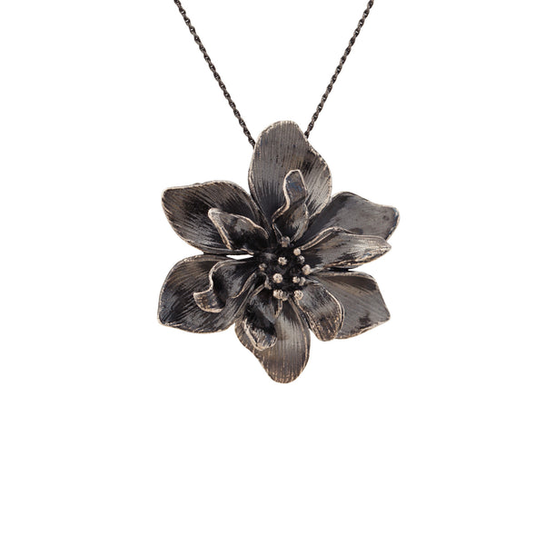 Flora ~ Double Fantasy Flower Pendant