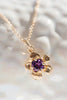 Fera Collection - Tiny Gem 14K Gold Pendant