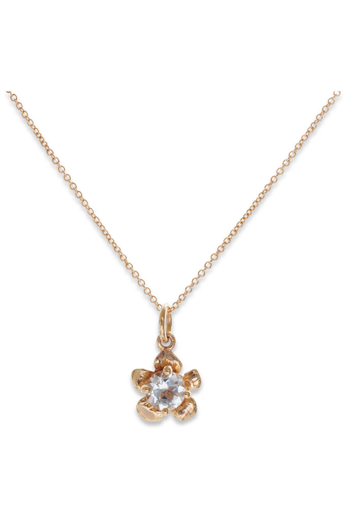 Fera Collection I Tiny Gem 14K Gold Pendant