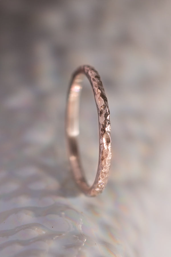 Signature Bands ~ Reef Small Gold Ring