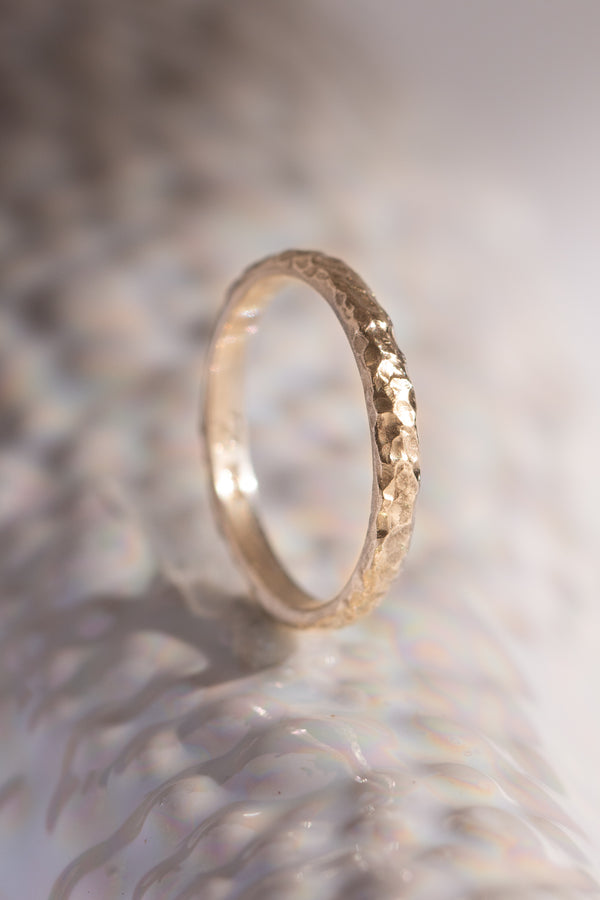 Signature Bands ~ Reef Medium Gold Ring
