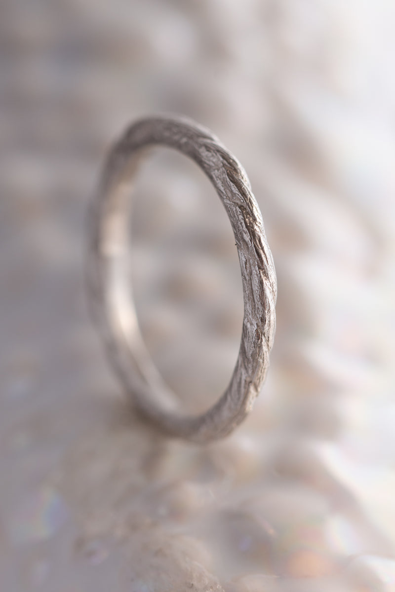 Bermuda Textures ~ Kite String Gold Ring