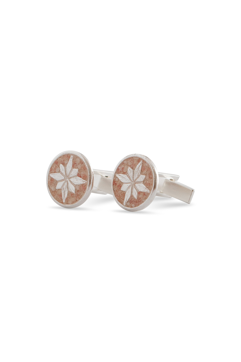 Compass Rose ~ Men's Cufflinks