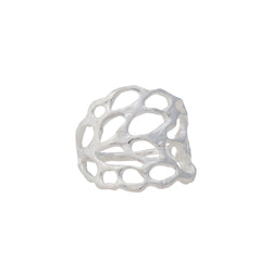 Lace ~ Large Ring - Alexandra Mosher Studio Jewellery Bermuda Fine
