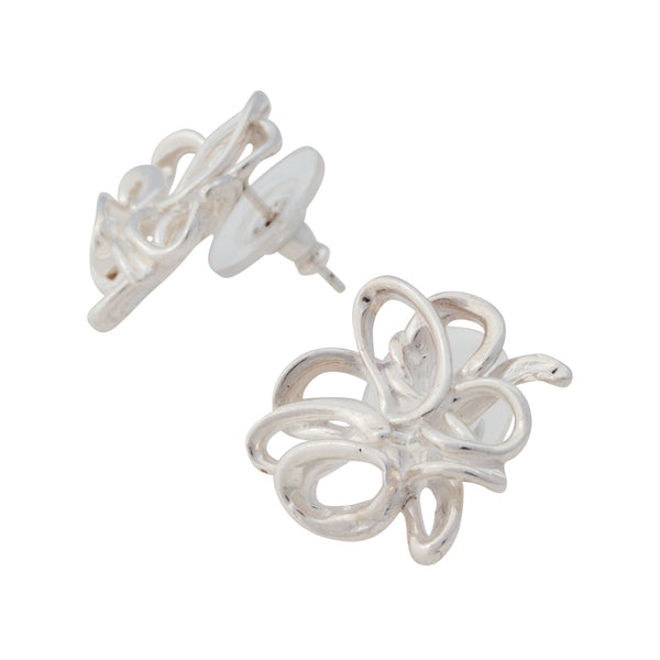 Melt ~ Small NeverEndingStory Stud Earrings - Alexandra Mosher Studio Jewellery Bermuda Fine