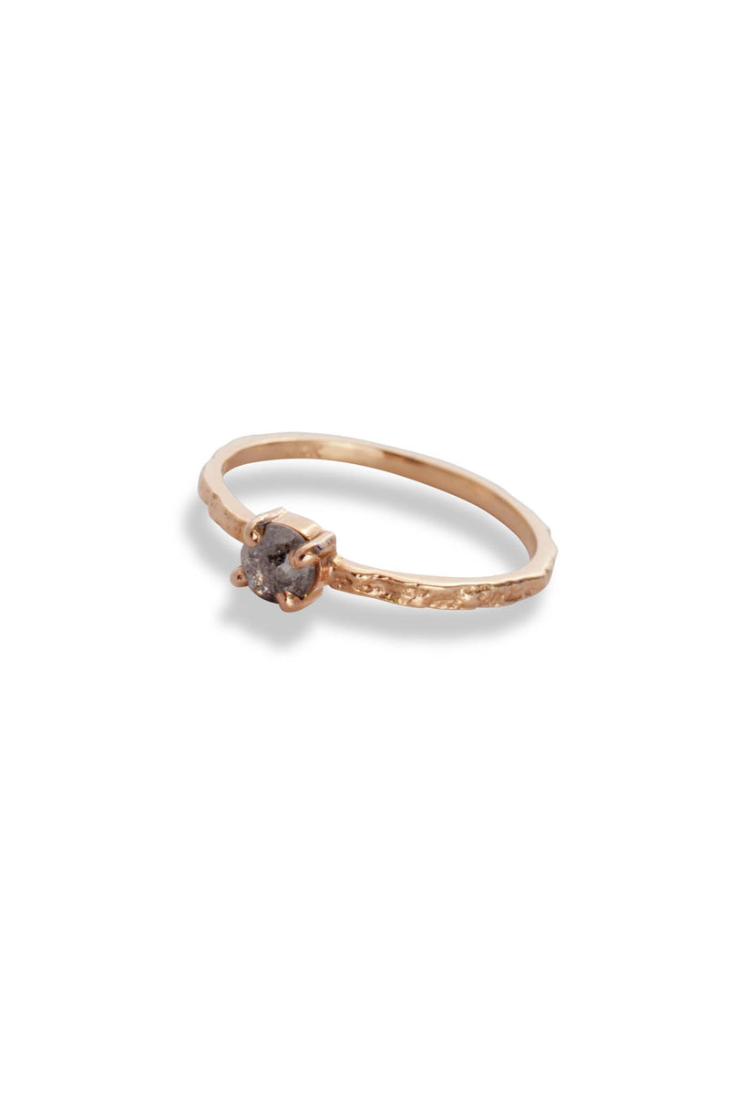 BDA Moss Textured Ring 14K Rose Gold