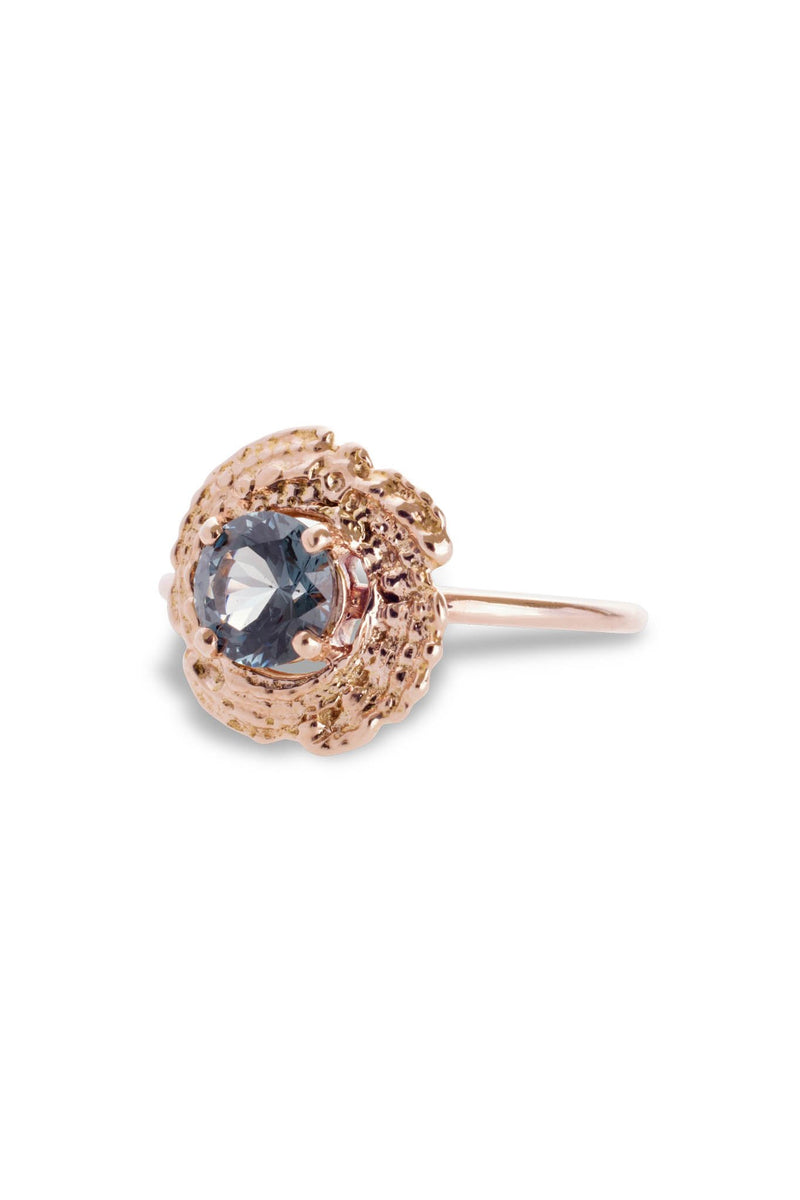 One of a Kind ~ Bubble Shell Ring in Rose Gold - Alexandra Mosher Studio Jewellery Bermuda Fine